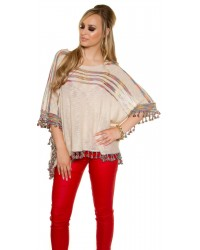 Poncho/bat Top